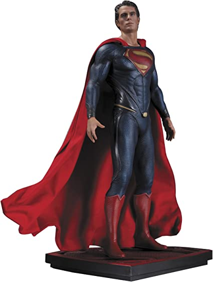 Man of Steel SUPERMAN Superman 1//6 Iconic Statue Dc Direct