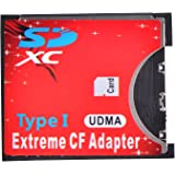 Optimal Shop SD CF Card Adapter Wireless Wifi SD MMC SDHC SDXC Slot To CF Type I Compact Flash Memory CF Card Adapter High speed for SLR Camera