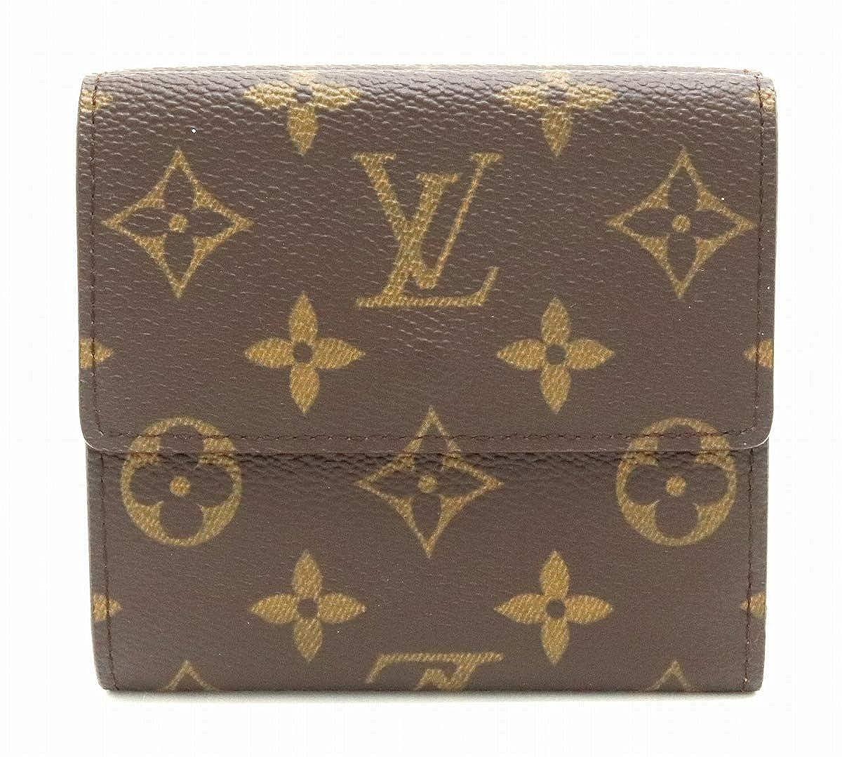 [ルイ ヴィトン] LOUIS VUITTON モノグラム ポルトモネ ビエ カルト クレディ ダブルホック財布 Wホック財布 M61652 [中古]   B07QLSNZ2N