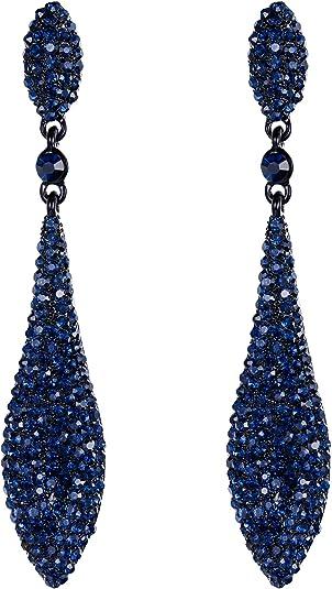 1920s Great Gatsby Rhinestone Earrings