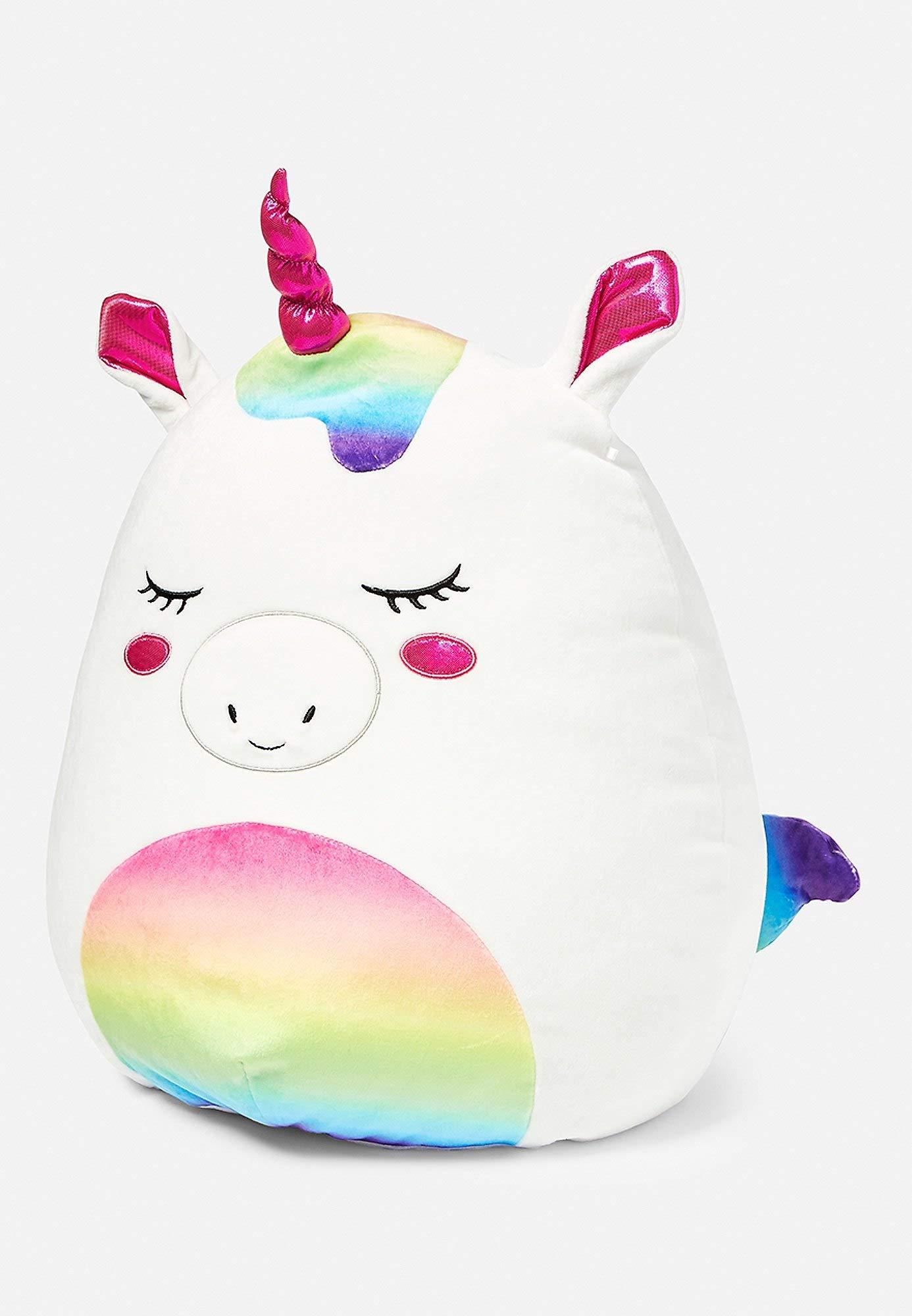 Squishmallows Justice Exclusive 16'' Stella The Unicorn Plush Pillow Stuffed Animal