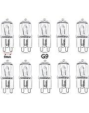 qobobo® 10x G9 Lampe Halogène, Capsule Ampoule 40Watt, Blanc Chaud, 220-240V