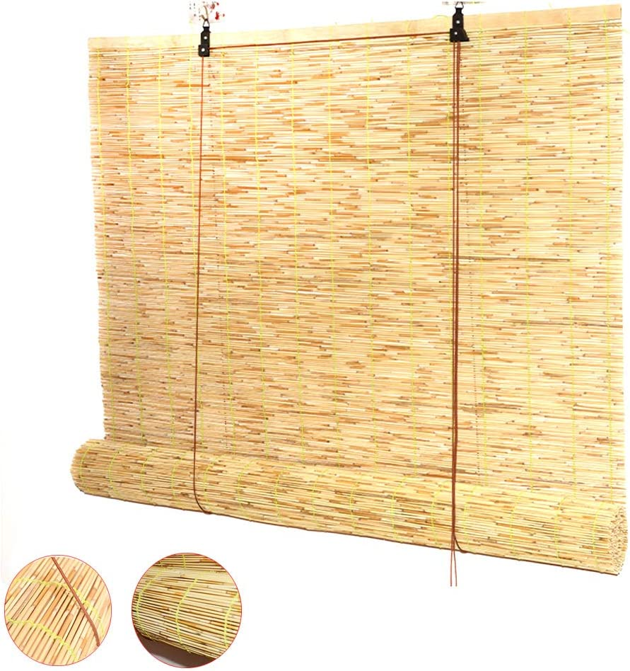 Zlovne Persianas de Caña Cortina de Caña,Persiana de Bambú Retro ...