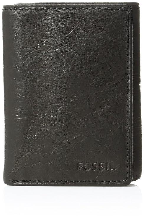 0397feedc280 Fossil Men s Ingram Extra Capacity Trifold Wallet