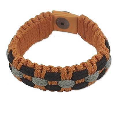 Novica Mens wristband bracelet, Perseverance