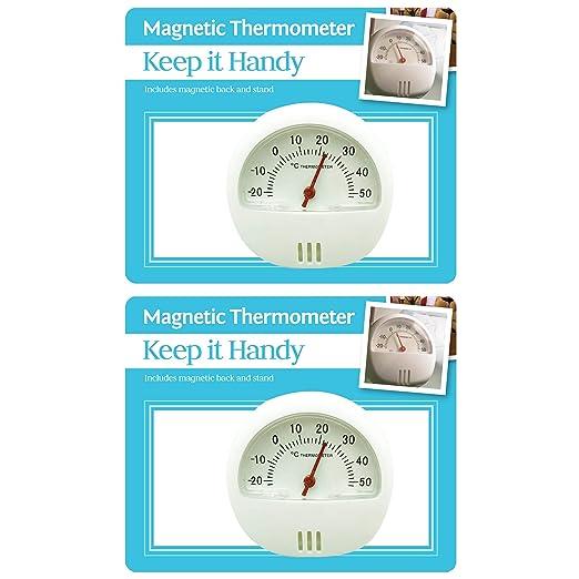 Keep it Handy Termómetro magnético de ambiente simple pero ...