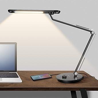Philips Fact Schreibtischlampe Schwenkarm Büroleuchte Tischleuchte Leselampe
