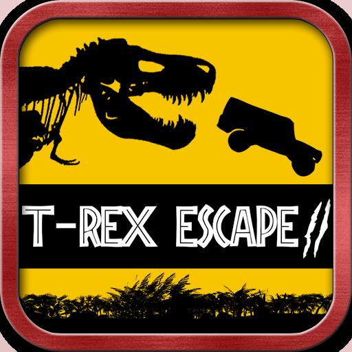 - T-Rex Escape Dino Park - Jeep Chase Jurassic Dinosaur
