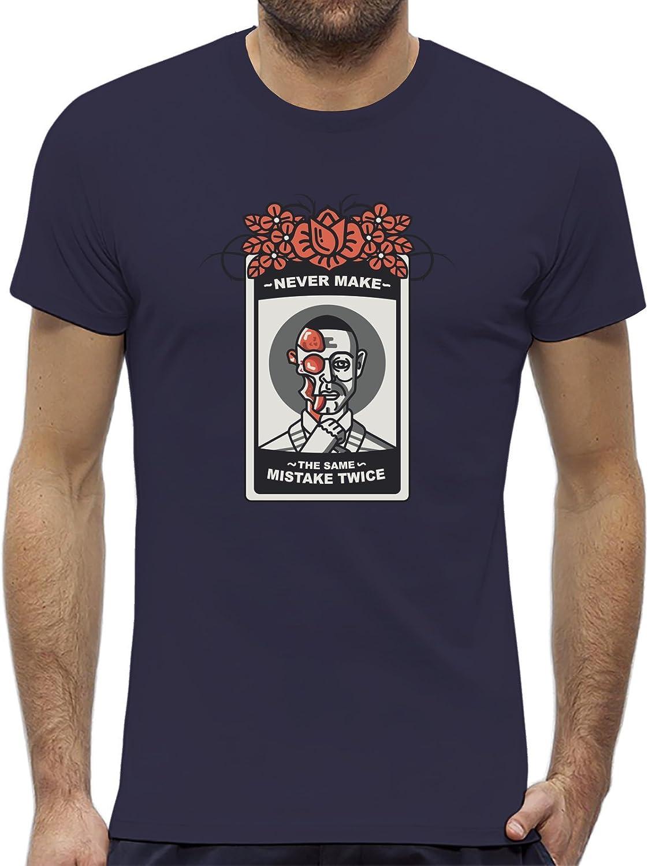 PACDESIGN Camiseta Hombre Breaking Bad Los Pollos Hermanos Gus Fring Giancarlo Esposito Bk0001a: Amazon.es: Ropa y accesorios