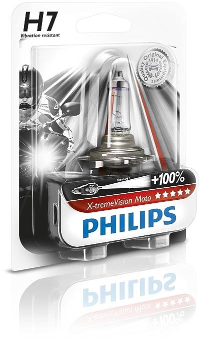 35 opinioni per Philips 12972XVBW- H7 X-TremeVision Moto B1, 12V, 55W, PX26d