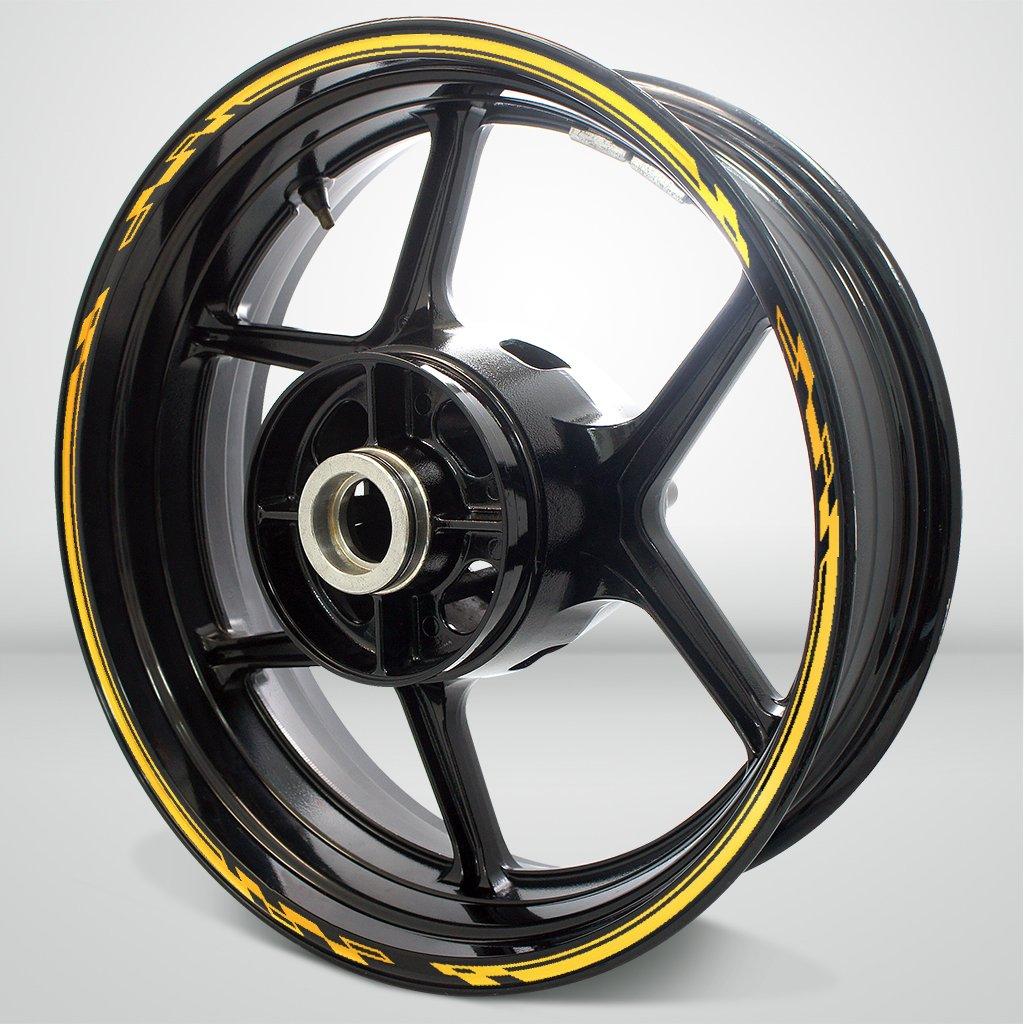 Reflective Yellow Race Outer Rim Liner Stripe for Suzuki GSXR 750