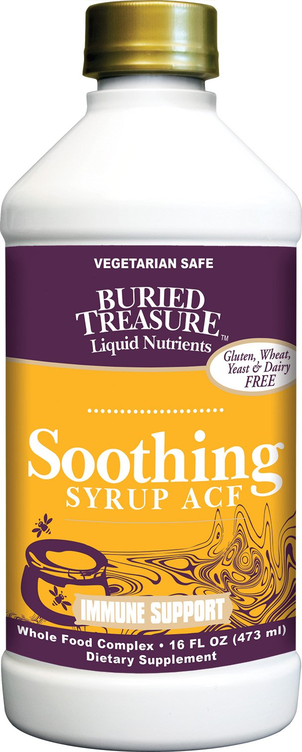 Buried Treasure - Soothing Syrup ACF - Immune Support – 16 oz