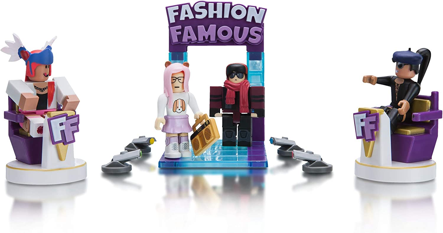 Amazon Com Roblox Celebrity Collection Fashion Famous Playset