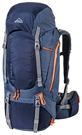 Mckinley Mochilas de marcha Make 50w+10 Rc Navy Dark/Blue Dark/Orange Uni: Amazon.es: Deportes y aire libre