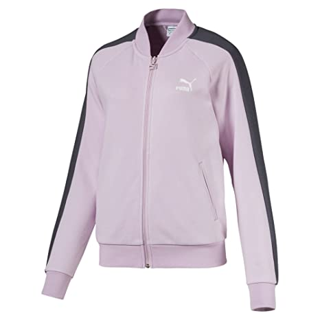 Puma Classics T7 Track FT Chaqueta, Mujer, Winsome Orchid, Extra-Small