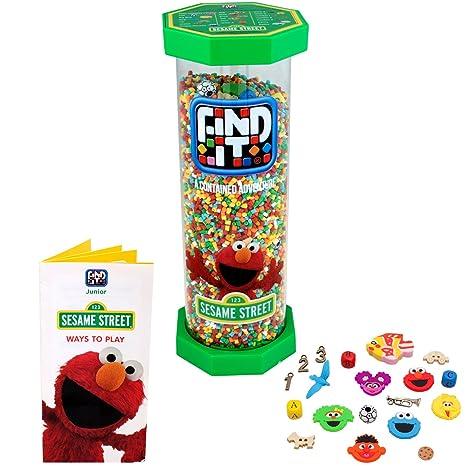 Amazon Com Find It Games Junior Sesame Street The Original