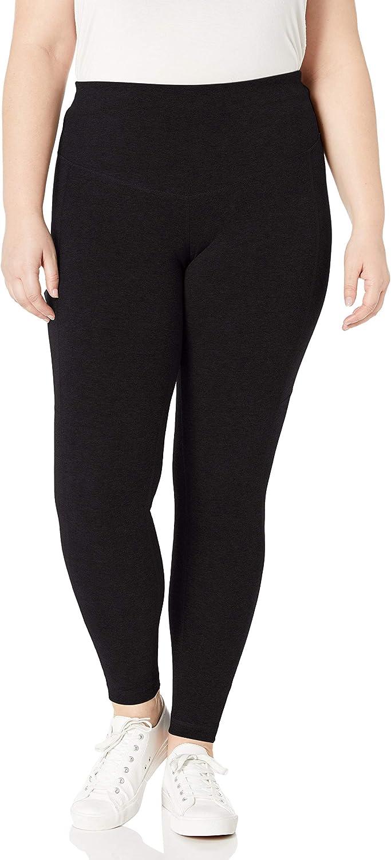 Rainbeau Curves Women's Plus-Size Basix Compression Legging at  Women's Clothing store