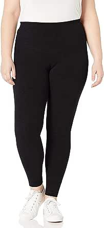 Rainbeau Curves Women's Plus Size Basix Compression Legging
