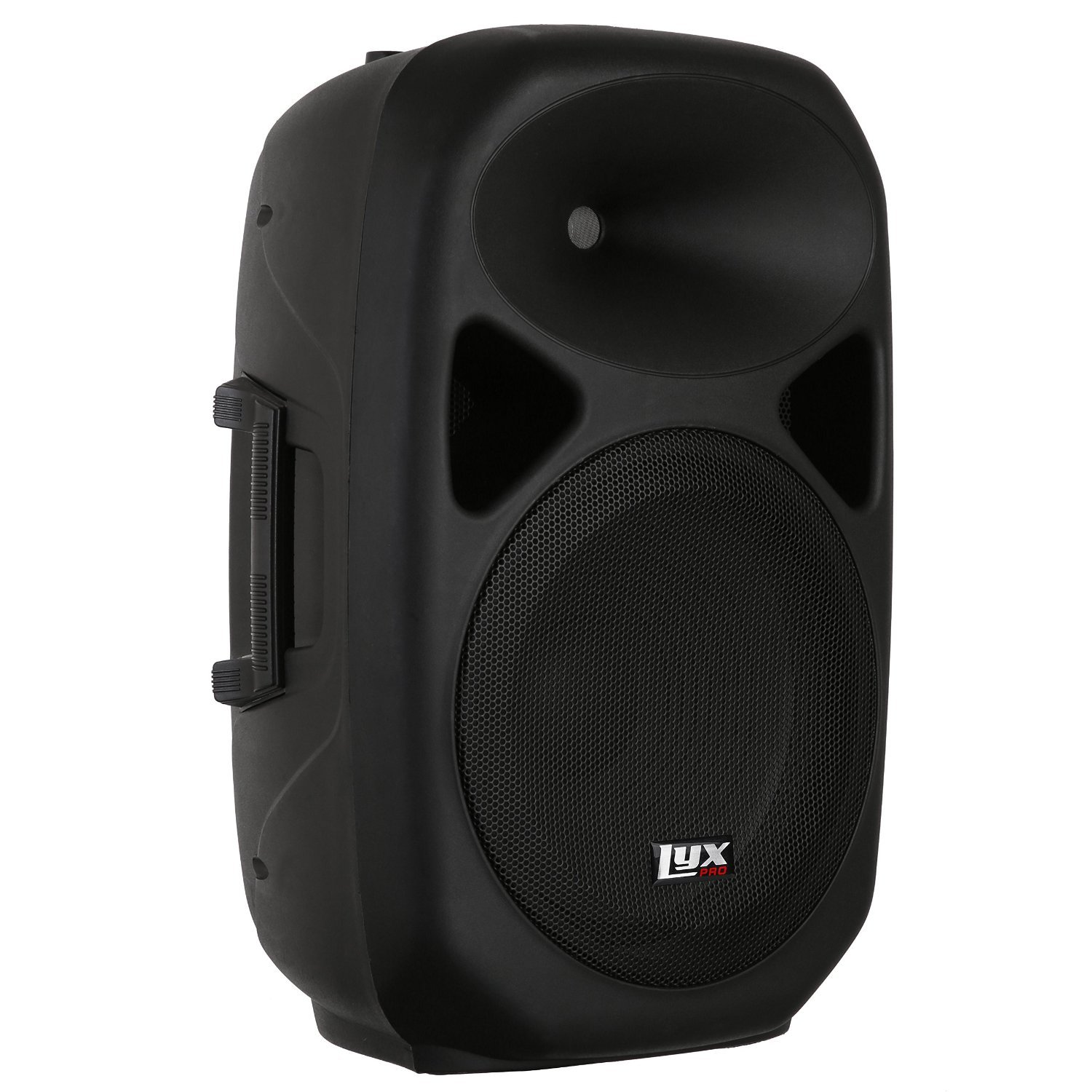 LyxPro SPA-12 - 12'' Compact Portable PA System 130-Watt RMS Power Active Speaker with Equalizer, Bluetooth, SD Slot, USB, MP3, XLR, 1/4'', 3.5mm Input