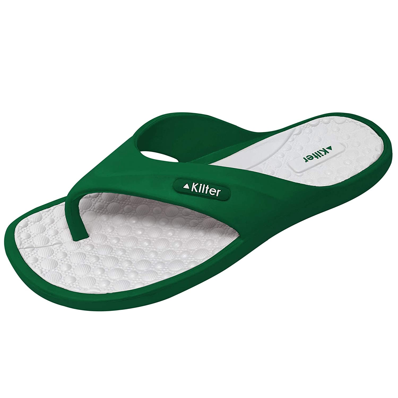 TALLA 44 EU. Kilter Sandalias de Vestir de Material Sintético para Hombre 36 EU