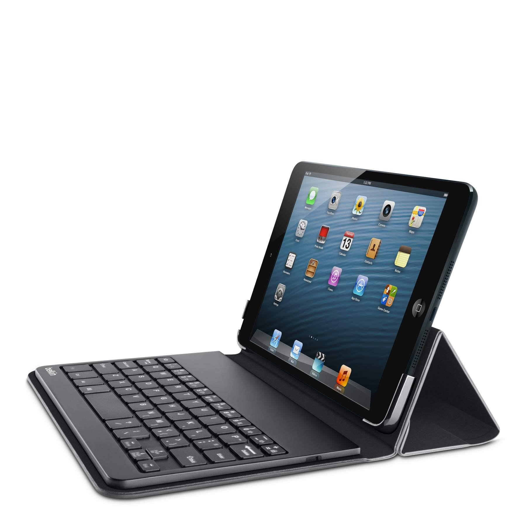 Belkin QODE Portable Bluetooth Keyboard and Case for iPad mini 3, iPad mini 2 with Retina Display and iPad mini  (Black) by Belkin
