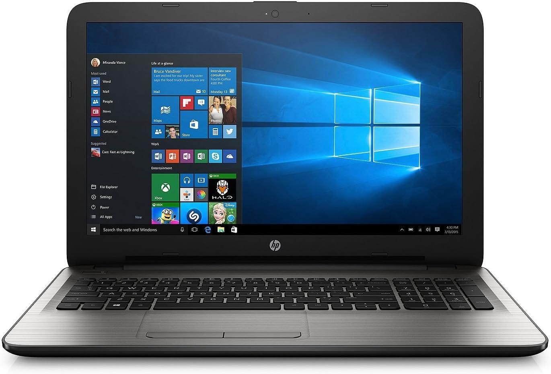 HP 15.6 inch HD Laptop, Intel Core i5-7200U Processor 2.5GHz, 12GB DDR4 RAM, 1TB HDD, HDMI, Bluetooth, SuperMulti DVD, WiFi, HD Webcam, Windows 10 -Turbo Silver (Renewed)