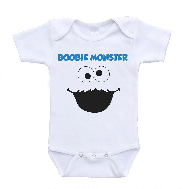 Amazon Boobie Monster Cookie Parody Funny Cute Baby esies