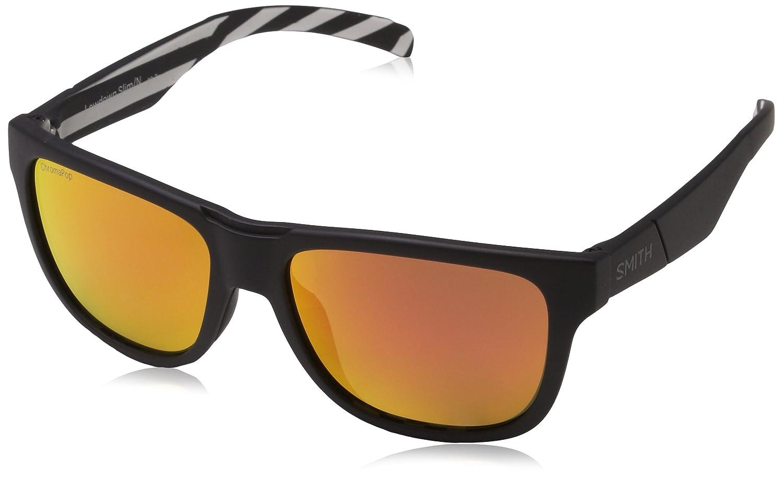 Smith Unisex Adults' Lowdown Slim/N X6 S37 54 Sunglasses, White (Whtebk Pattern/Pk Pink)