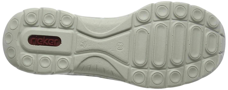 Rieker Damen Braun L3269 Slip on Sneaker, Braun Damen (Brandy/Cigar/Fango/Beige 24) 6972f0