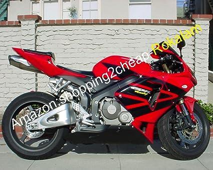 Amazon Com Red Black Body Kit For Cbr600rr F5 2005 2006 Cbr 600 Rr