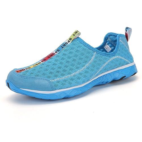 LFEU Zapatillas para el Agua de Malla Unisex Adulto: Amazon.es: Zapatos y complementos