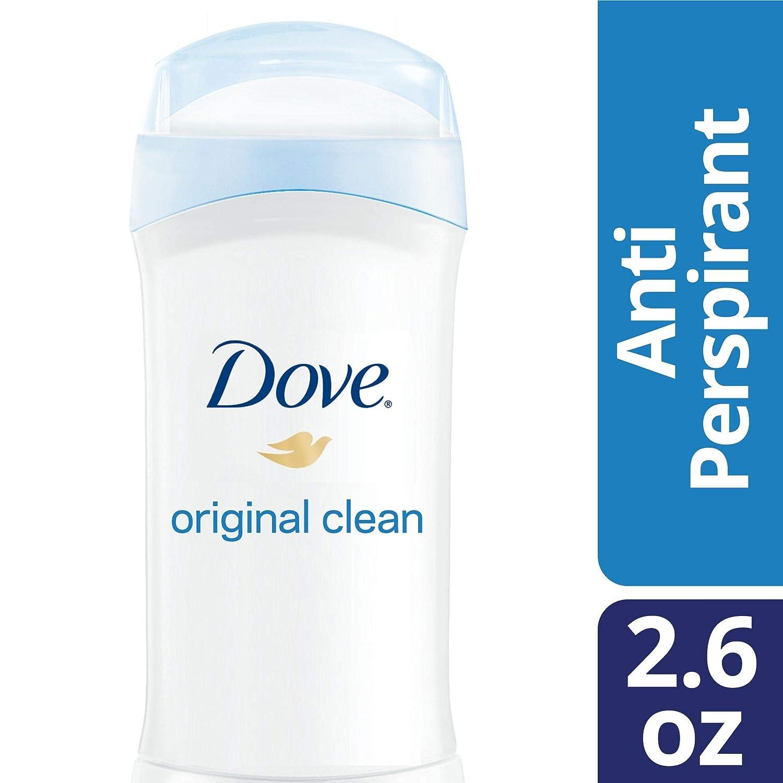 Dove Antiperspirant Deodorant, Original Clean, 2.6 oz