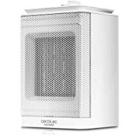 Cecotec Calefactor Baño Cerámico Ready Warm 6150 Ceramic Rotate Style. Oscilante, 1500 W, Termostato Regulable, 3 Modos…