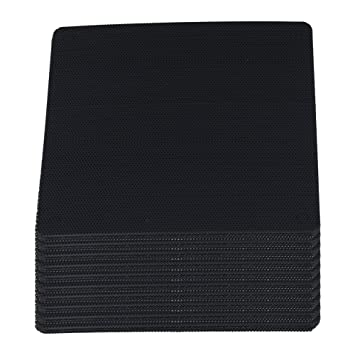 Yibuy - 100 filtros de PVC para Ventilador de PC, Color ...