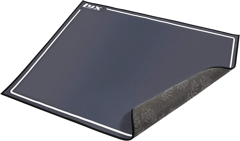LyxJam Drum Rug Mat With Fabric Non Slip Bottom Floor Carpet 4 x 4.6 Feet