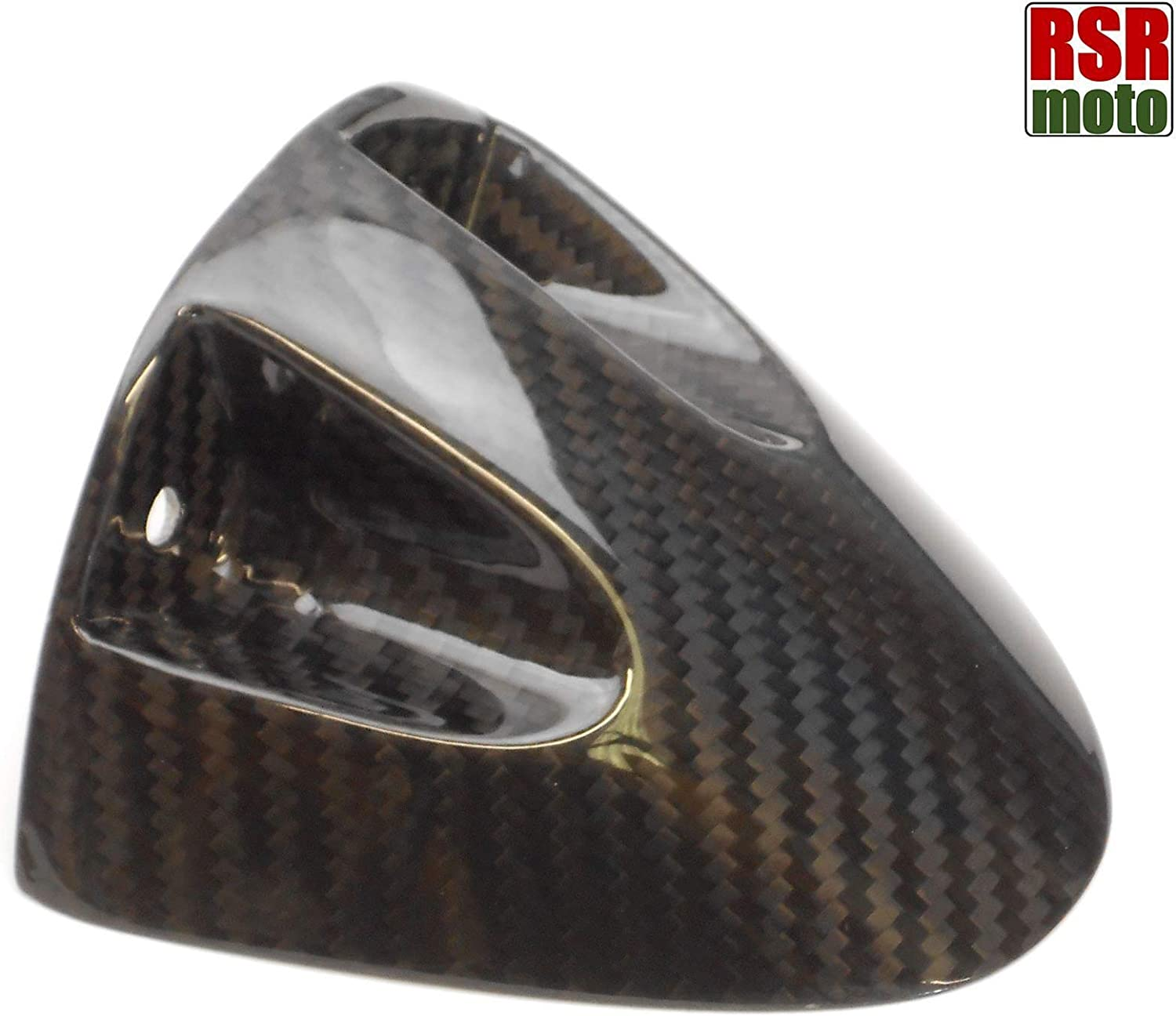 Gloss Twill Weave 2006-2007 RSR Moto Carbon Fibre Hugger Fender Compatible With Kawasaki ZX10R ZX10-R