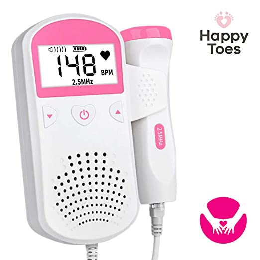 Portable and Reliable Fetus Gadget - Perfect Household Baby Accessory for Pregnant Women (Pink)