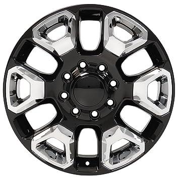 amazon black wheel 20x8 ram hd style w chrome inserts for 06 17 Dodge Ram 1500 Styles amazon black wheel 20x8 ram hd style w chrome inserts for 06 17 dodge ram 2500 automotive
