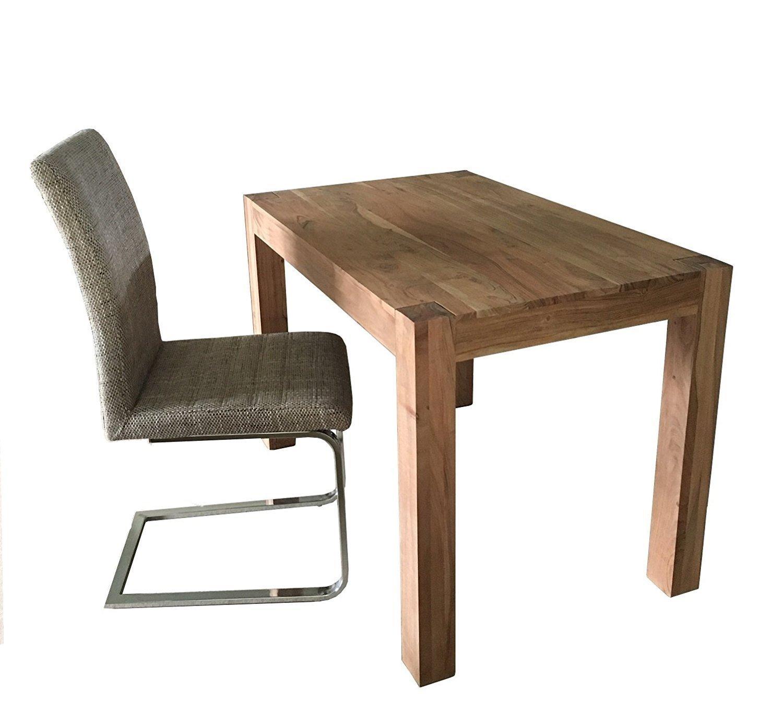 Dewas Esstisch - KÜchentisch 110x70 cm Kaffeetisch Tisch - Holztisch aus Akazie