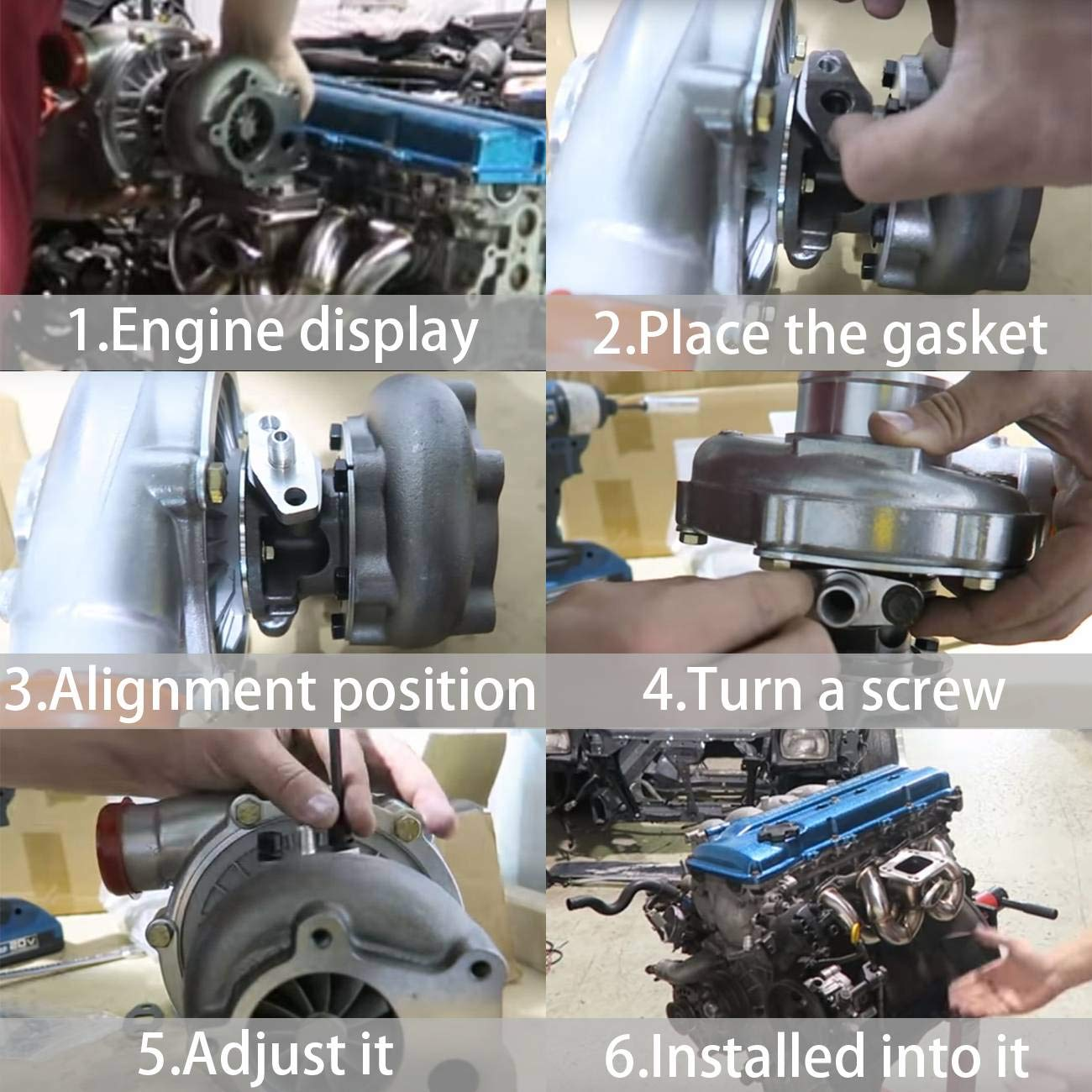 Bapmic Turbo Turbocharger 14411-AA670 for 2007-2009 Subaru Legacy GT Outback XT 2.5 LP MD13 VF46
