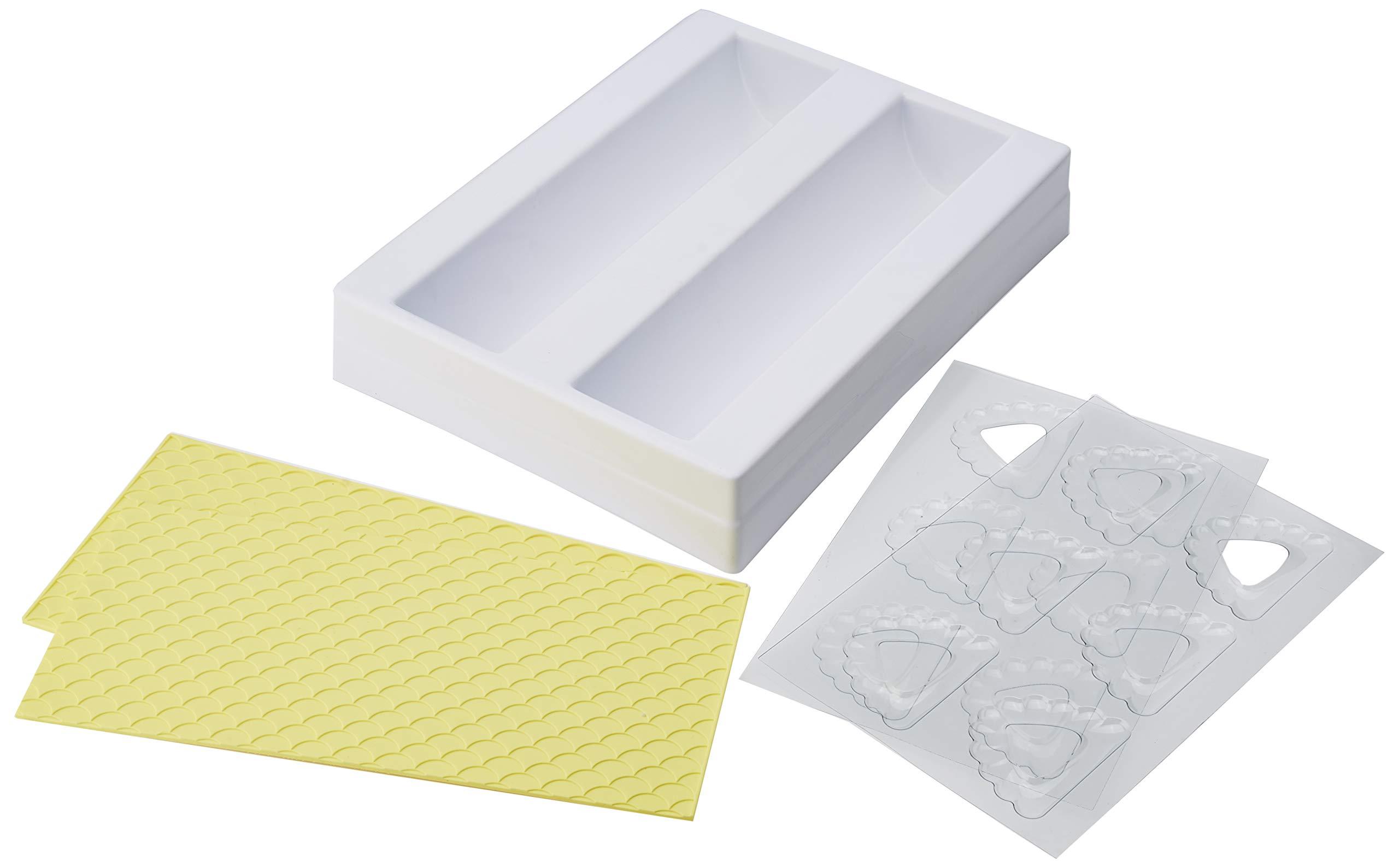 Martellato 30T07K Starter Waves Mould Kit, Plastic, Multicoloured