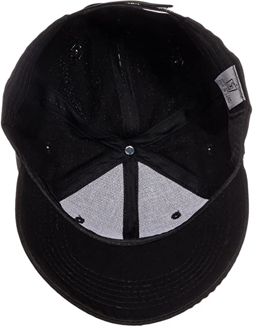 4d7d602a8dd Crystal Case Womens Cotton Gold Rhinestone Studded Baseball Cap Hat (Black Gold)  at Amazon Women s Clothing store