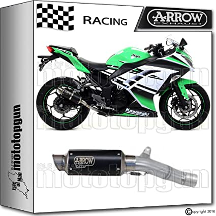 Arrow Kit Silencioso DB-Killer GP2 acero Dark Race Kawasaki ...