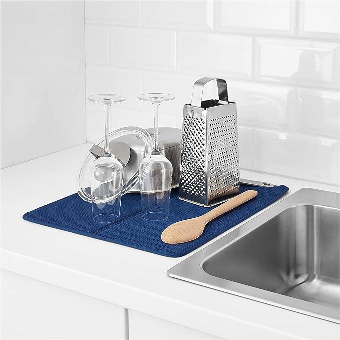 "IKEA NYSKOLJD Dish Drying Mat 17¼ x 14 ¼ /"""