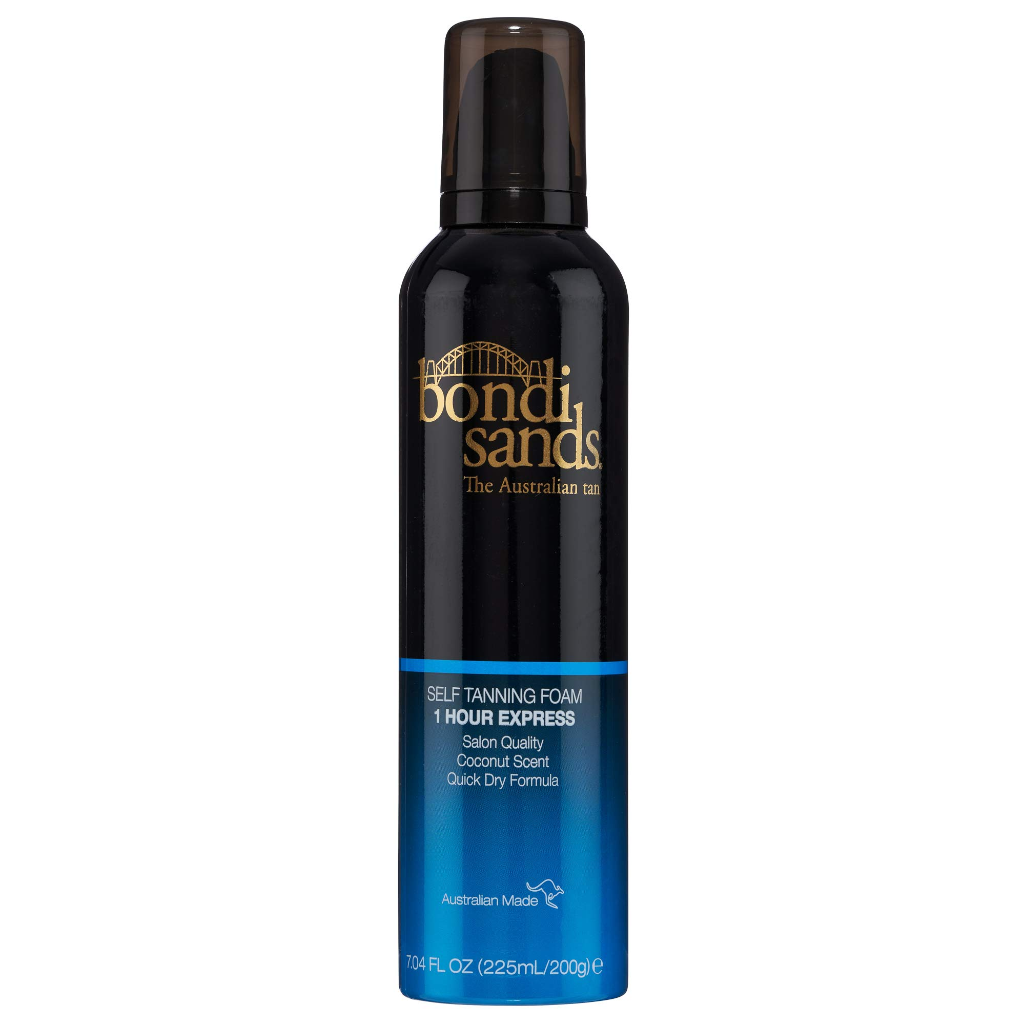 Bondi Sands Self Tanner Foam - 1 Hour Express - Self Tanner Mousse for Quick Sunless Tanning - Use for a Natural Looking Australian Golden Tan (7.04 FL OZ)