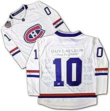 Guy Lafleur Platinum Edition Career Jersey - Autographed - LTD ED 10 - Montreal