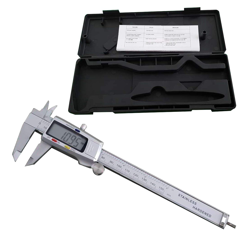 Top Tools Digitaler Messschieber 0-150 mm Digital LCD Schieblehre Meßschieber