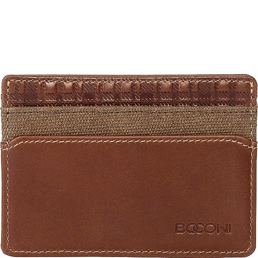 323a754eb855 Amazon.com | Boconi Bryant LTE Weekender RFID ID Card Case (Heather ...