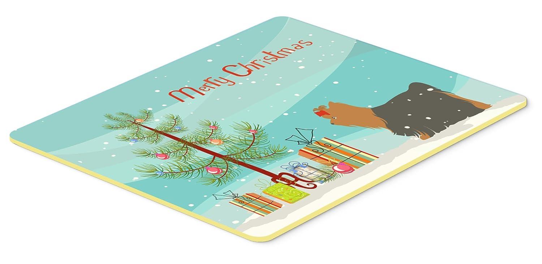 Carolines Treasures Yorkshire Terrier Yorkie Merry Christmas Tree Kitchen or Bath Mat 20x30 BB2952CMT 20Hx30W Multicolor