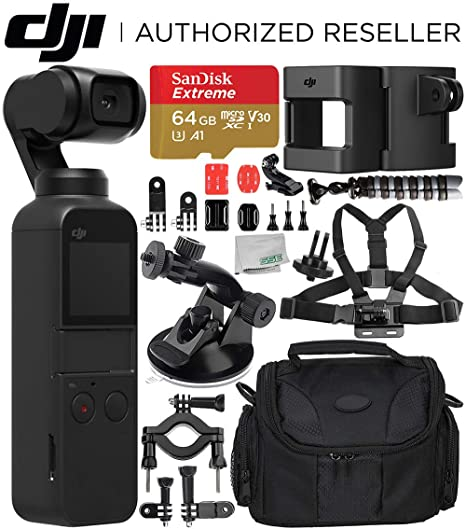 Amazon.com: DJI Osmo Pocket Gimbal con Essential Action ...